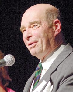 John Rockley, pictured above at The Glassies in Parksville in 2011. Picture credit: The Parksville Qualicum Beach News.
